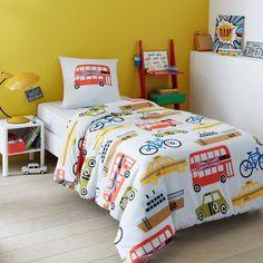 Child's TAXI Duvet Cover La Redoute Interieurs