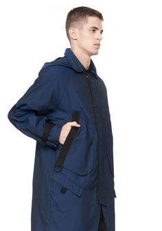 MULTI POCKET HOODED PARKA JACKET - Men Jackets And Outerwear - Alexander Wang Official Site