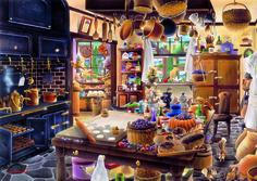 """Puzzle EDUCA """"La panadería"""", 3.000 piezas #bread #pan #bakery #boulangerie…"""