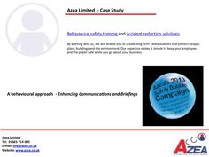 Behavioural training -   http://www.slideshare.net/Azea_Limited/a-behavioural-approach-enhancing-communications-and-briefings