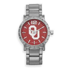 Collegiate Licensed University of Oklahoma Men's Fashion Watch