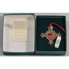 """Ornament Vatican Library Collection """"Angel of the Annunciation"""" Retired"""