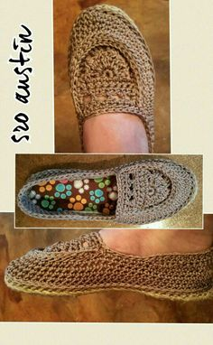 My Most comfortable crochet shoes ever by SRO-AUSTIN ;)