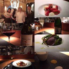 Italian cuisine������ . . . In camera TERRAZZAさんへ✨ どうしてもカプレーゼが食べたくなり、我儘なリクエストをしましたらシェフのはまさきさんが作ってくださいました! 全てのお料理が美味しくって終始Smileです。 日本のスパークリングワインも辛口すっきりなお味で暑い日にぴったりでした�� 最後はシェフ、ソムリエさんとお写真撮っていただきました。 ありがとうございました(^^) . . . #italiancuisine #japan #tokyo #tachikawa #dinner #nicerestaurant #yummy #happy #sparklingwine #wine #pasta #caprese #salad #sweets #お店の雰囲気も皆さんのお人柄も素敵でした #御縁 #感謝 #一期一会 http://w3food.com/ipost/1525209472947284079/?code=BUqoe9LFWhv