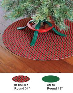Flooring News How To Protect Your Hardwood Floors From Christmas  - Christmas Tree Stand Mat