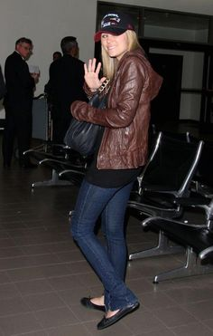 Lauren Conrad at the airport  (Mike & Chris jacket)  http://www.ortutraders.com/