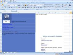 Obtener datos externos desde Web con Excel