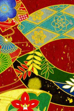 Japanese kimono pattern http://tsmskimonoyokubo.tumblr.com/post/33169408750