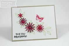 Stampin' Up, So dankbar, Geburtstagskarte, Schmetterling