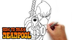 Learn how to draw Deadpool in this step by step narrated video tutorial. I share tips and tricks on how to improve your drawing skills throughout my lessons. Deadpool Chibi, Scary Drawings, Drawing Skills, Drawing Ideas, Learn To Draw, Teaching Kids, Art Lessons, Coloring Pages, Improve Yourself