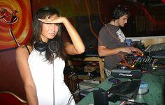"""Ellita @""""Life"""" night club."""