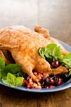 Check out what I found on the Paula Deen Network! Roast Christmas Duckling with Christmas Chutney http://www.pauladeen.com/recipes/recipe_view/roast_christmas_duckling_with_christmas_chutney