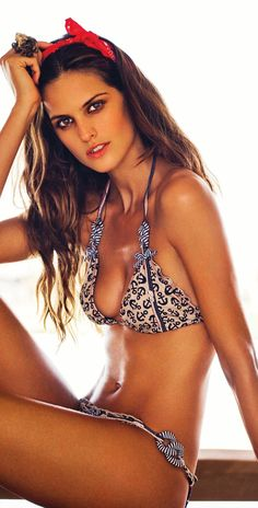 Agua Bendita 2013 Ancla Anchor Nautical Bikini