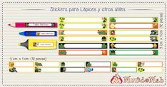 stickers para lapices plantas vs zombies