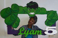 Hulk photo frame