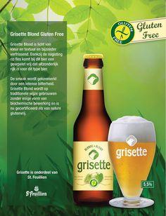 Grisette Blond (glutenvrij bier)