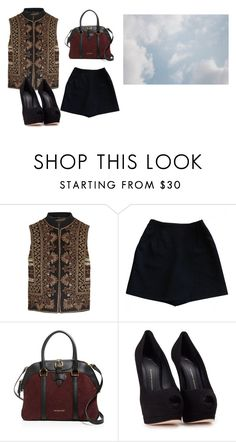"""Untitled #13300"" by jayda365 ❤ liked on Polyvore featuring Etro, Burberry and Giuseppe Zanotti"