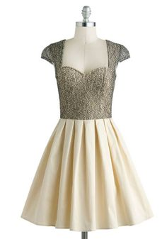 Glimmer and Dancing Dress, #ModCloth