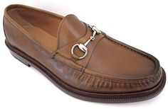 Gucci Cuir Mens Brown Leather Loafers Shoes Made in Italy - http://shoes.goshopinterest.com/mens/loafers-mens/gucci-cuir-mens-brown-leather-loafers-shoes-made-in-italy/