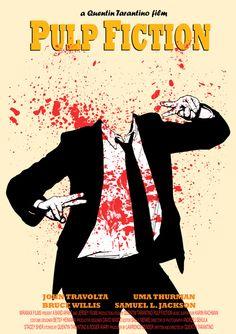 Pulp Fiction - movie poster - Danna Podstudensek
