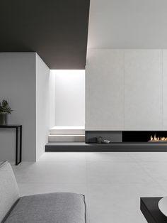 STARK, la nueva generación de #porcelánico de gran formato XLIGHT. Distintos tamaños y espesores con un ciclo productivo eco-eficiente a partir de un alto porcentaje de materia reciclada. Descubre las novedades URBATEK - #PORCELANOSA Grupo en la XXIV Muestra Internacional de #Arquitectura Global & #Diseño Interior. - #PorcelanosaExhibition #Concrete #Home #Inspiration #Fireplace #Tiles #Living #Home