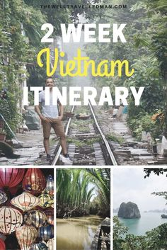 2 week detailed itinerary for Vietnam