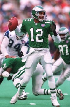 #12 Randall Cunningham, QB - Philadelphia Eagles