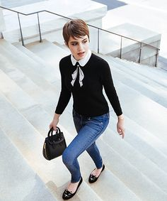 Sami Gayle - Style Tips, Interview Sami Gayle, Look Gamine, Gamine Style, Pixie Outfit, Look Fashion, Autumn Fashion, Fashion Outfits, Gamine Fashion, Paris Fashion
