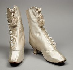 Wedding Boots, 1882