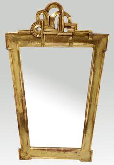 MARGOT STRECKER Mirror, c. 1927, Berlin, 82 x 52 cm