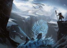 tomb of the spirit dragon mtg art - Google Search