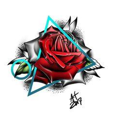 Rosa desenho