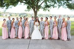 Pink and Gold Virginia Wedding 21