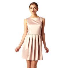 Jane Dress Nude Rose