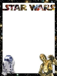 Star Wars journaling card.