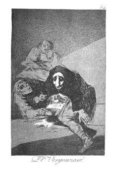 El Vergonzoso by Francisco Goya