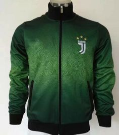 2017 Jacket Juventus Replica Green Coat