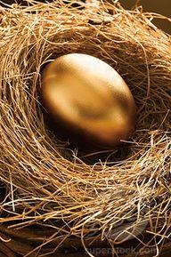 Gold zum Ostern.