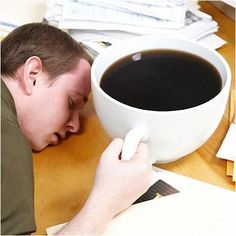 Dont Sleep At Work, Stay Awake with World's Biggest Coffee Cup