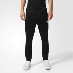 BLK/WVN T90 Track Pants - Black