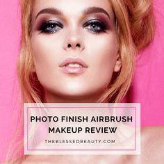 Celebrity Makeup Secret Revealed!!    They use Airbrush Makeup -- Photo Finish Airbrush makeup kit review
