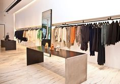 Wow! Could this store be anymore incredible? This is Alexander Wang's first store and of course, it's in New York City. I would love to visit it.
