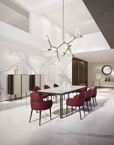Furniture Styles, Large Furniture, Modern Furniture, Furniture Design, Gala Design, Tempered Glass Shelves, Luxury Furniture Brands, Dining Table Chairs, Dining Room