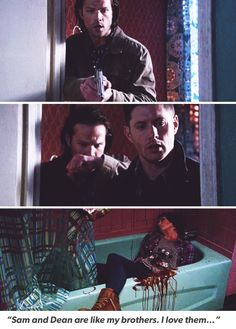 """Sam and Dean are like my brothers.I love them."" #RIPCharlie #SPN10.21 #Charlie"