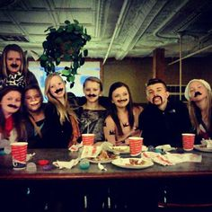 We mustache you a question.... #Pizza #godfatherspizza