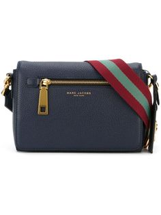 MARC JACOBS Small 'Gotham' Crossbody Bag £363.24 - Add a collegiate touch to your bags, shoulder straps go striped, so should you