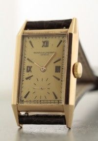 Vacheron Constantin Rectangle 1930's 18KPG Cal.435/3C 885,600---2017.3.27.