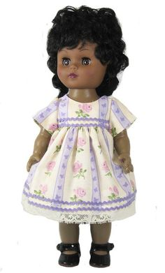 """12"""" Striped Vintage Doll Dress for Goodfellow dolls"""