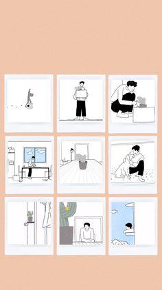 Wallpaper Doodle, Of Wallpaper, Wallpaper Quotes, Wallpaper Backgrounds, Kpop Backgrounds, Aesthetic Pastel Wallpaper, Aesthetic Wallpapers, Exo Stickers, Exo Album