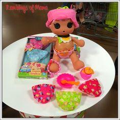 Ramblings of Mama: Lalaloopsy Babies Diaper Surprise Doll